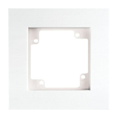 Рамка на 1 пост. Цвет Белый. GUSI Electric City. С511 - 001 - 001