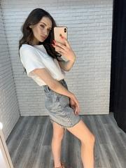 голубая джинсовая юбка оптом