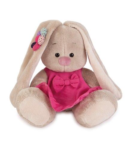 Зайка Ми в розовом сарафанчике и ромашкой на ушке купить