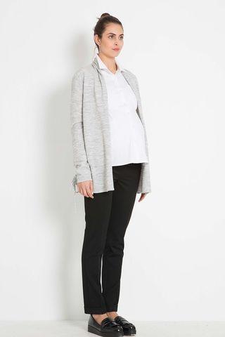 Кардиган для беременных 07821 серый
