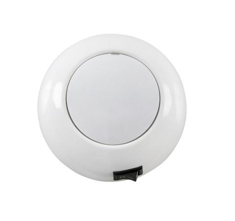 Светильник интерьерный светодиодный накладной, Ø110 мм