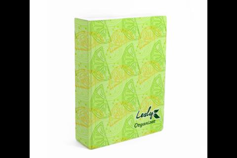 LESLY Органайзер для пластин Lesly (Лайм)