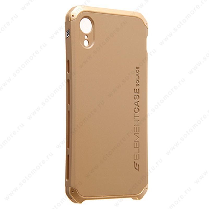 Накладка ELEMENT CASE для iPhone XR золото