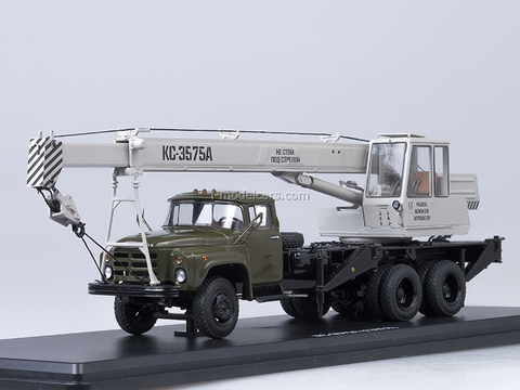 ZIL-133GYa KS-3575A Truck Crane khaki-gray Start Scale Models (SSM) 1:43