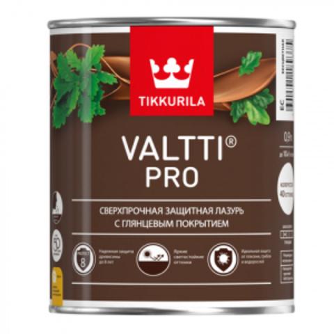 Tikkurila Valtti Pro/Тиккурила Валти Про защитная лазурь с глянцевым покрытием