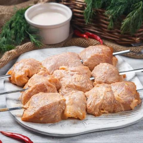 Филе бедра куриного маринованное
