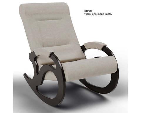 Кресло-качалка Вилла (Модель 5) ткань