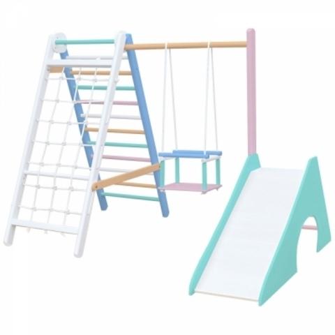 Детский комплекс для малышей mini-3 (Радужный)