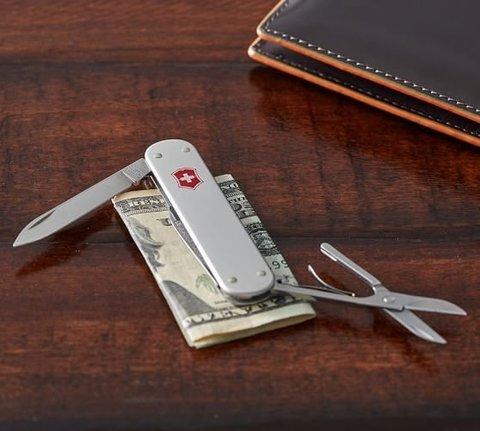 Нож Victorinox Money clip, 74 мм, 5 функций, серебристый123