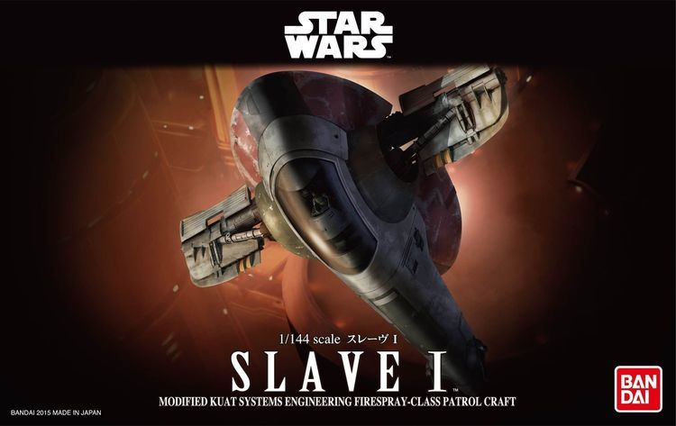 Star Wars 1/144 Scale Model Kit Slave I