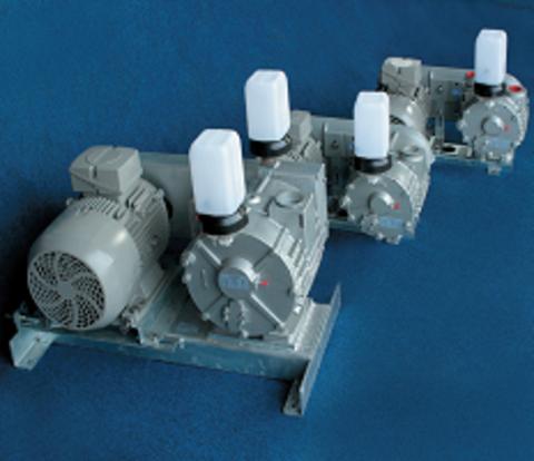 13148 Насос вакуумный SACCO 1300 в комплекте с эл. двиг. 3х400В/50Гц, 3,0кВт