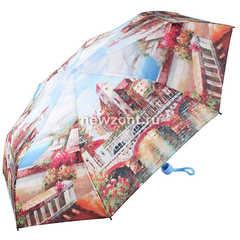 Женский зонт механический складной Magic Rain город у моря