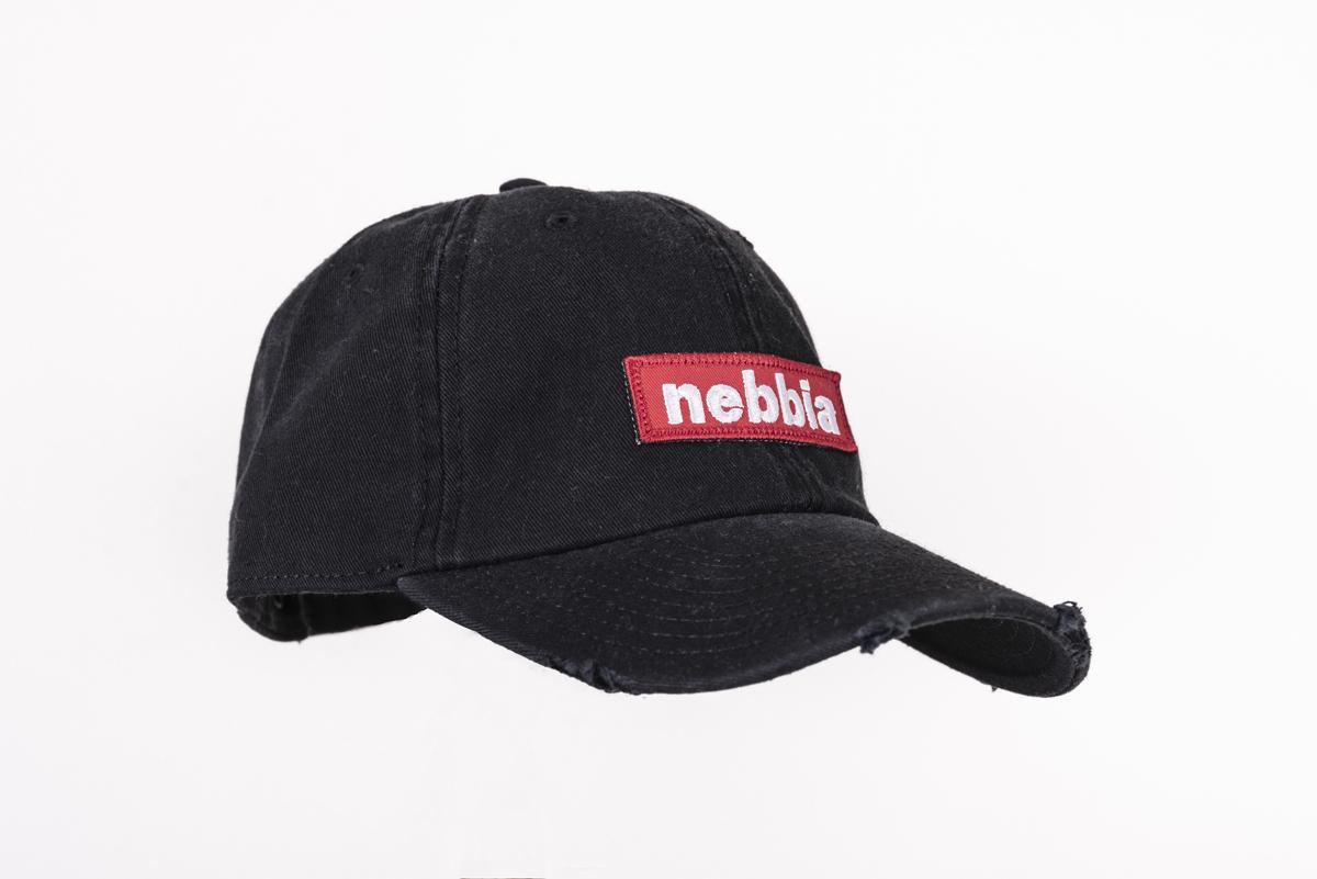Мужская кепка Nebbia 162 black