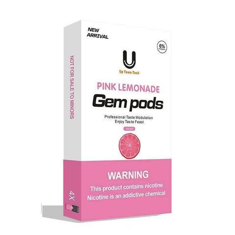 Картриджи для Juul - Gem Pods - Pink lemonade 6,0% (4 шт)