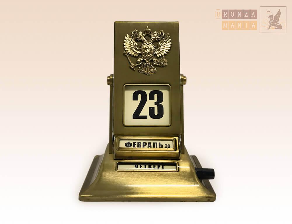 настольный перекидной календарь Россия