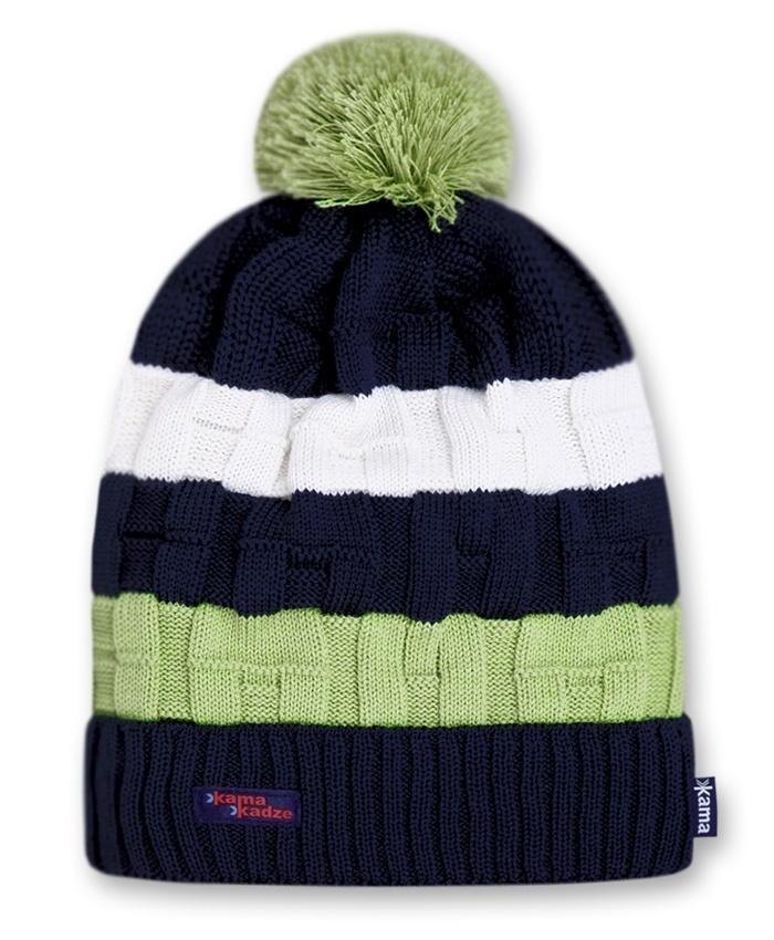 Шапки с помпоном Шапка с помпоном Kama K21 Navy kamakadze-knitted-hat-k21-default.jpg