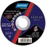 Отрезной круг NORTON VULCAN по металлу диаметр 230 мм х 3,0