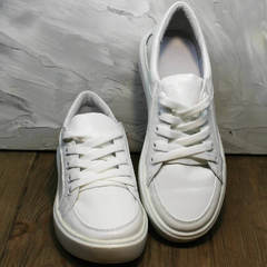 Женские кроссовки кеды белые Maria Sonet 274k All White