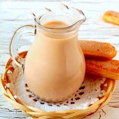 Молоко коровье топленое (КФХ Буркова) / 800 мл