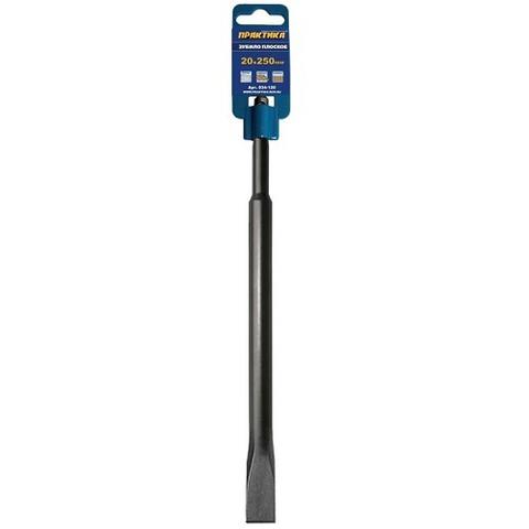 Зубило   SDS-plus плоское ПРАКТИКА 20 х 250 мм  (034-120)