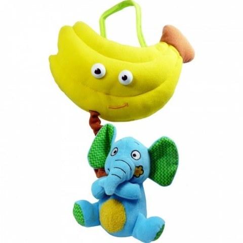 Игрушка развивающая Biba Toys Слон и банан BM658