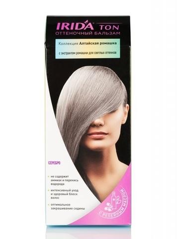 Irida Irida Ton Оттеночный бальзам для окраски волос Серебро 2*25мл