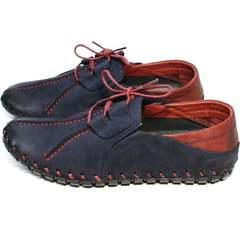 Модные мужские туфли стиль смарт кэжуал Luciano Bellini 23406-00 LNBN.