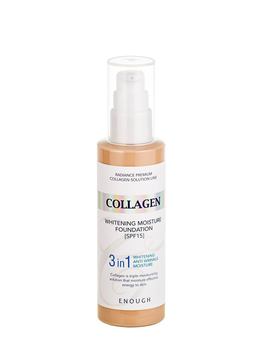 Тональный крем Enough Collagen Whitening Moisture 21