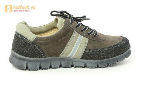 Ботинки Лель (LEL) для мальчика, цвет Коричневый, 6-1045. Изображение 4 из 15.