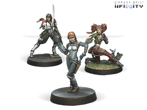 Dire Foes Mission Pack 3: Dark Mist (Caledonia VS Japanese Sectorial Army)