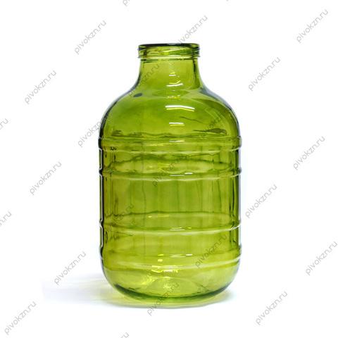 Банка ТО, зеленое стекло, 10 л