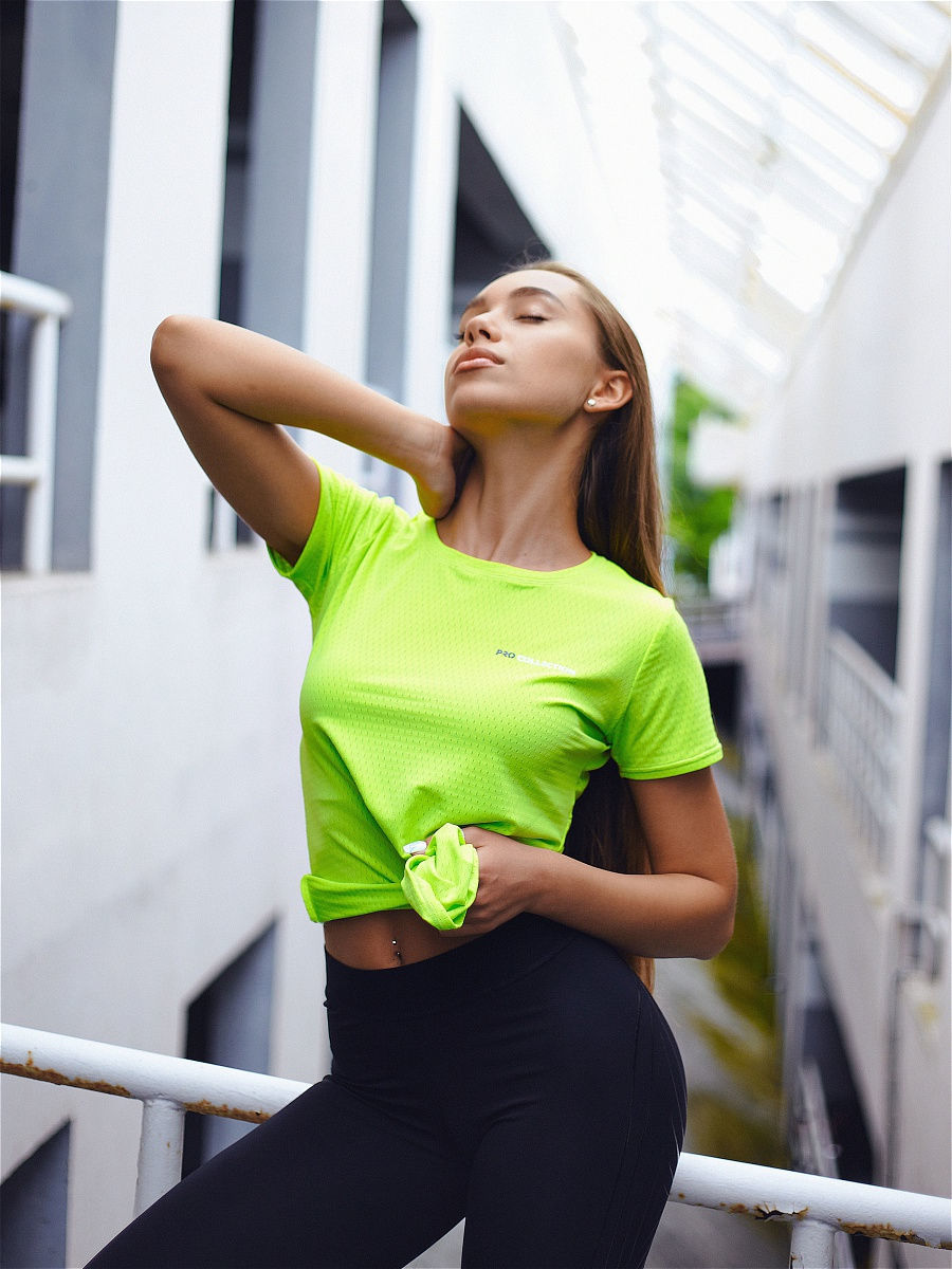 Футболка Pro Collection Neon Yellow