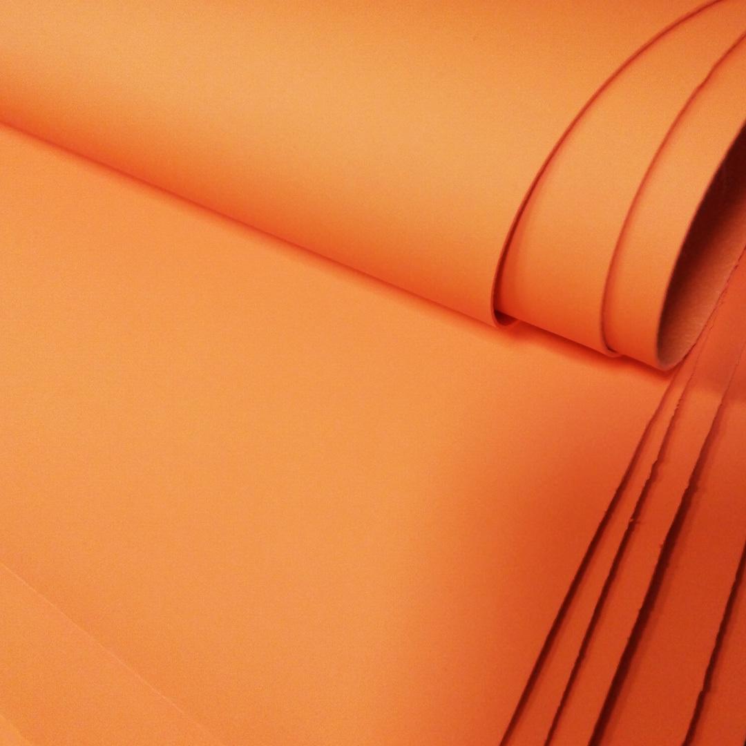 Искусственная кожа SyNT3 VELLUTINO оранжевый