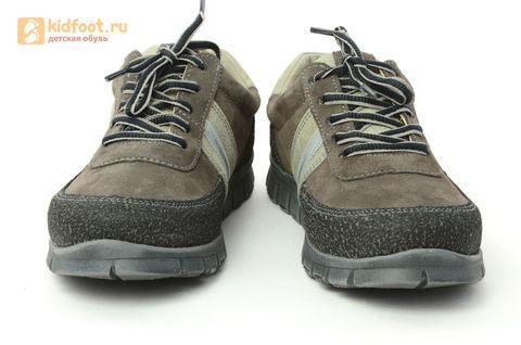 Ботинки Лель (LEL) для мальчика, цвет Коричневый, 6-1045. Изображение 5 из 15.