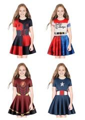 Супергероини костюм для девочки