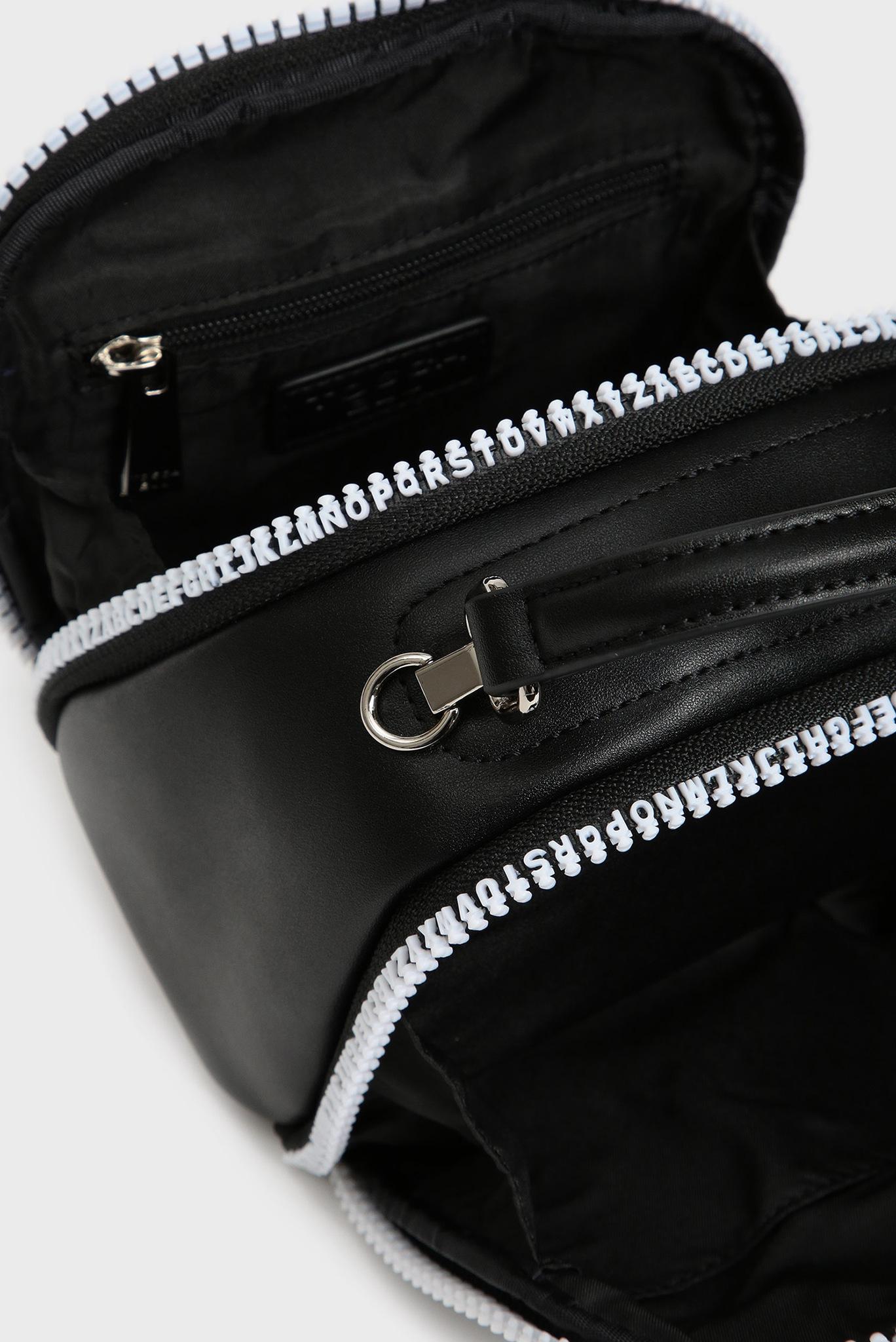 Женская черная сумка через плечо PERFECT Tosca Blu