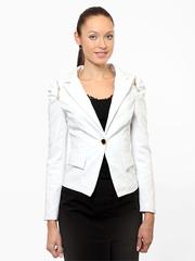 9023-2 пиджак женский белый