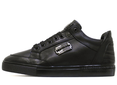 Кеды Мужские Philipp Plein Low-Top Razor Classic Leather (С Мехом)