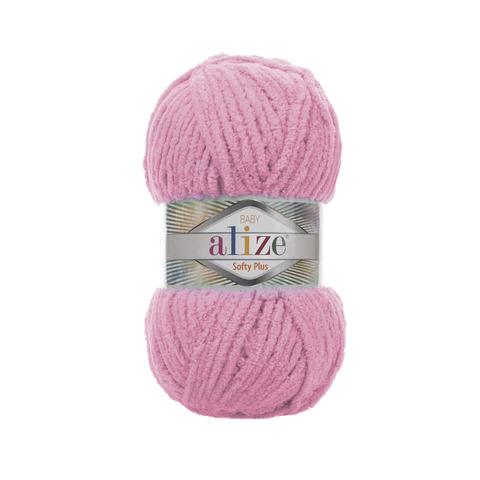 Купить Пряжа Alize Softy Plus Цвет 185 Розовый | Интернет-магазин пряжи «Пряха»