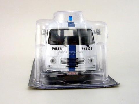 Peugeot J7 Brussel Police Belgium 1:43 DeAgostini World's Police Car #66