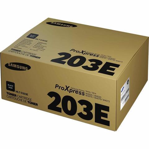 Картридж Samsung MLT-D203E (SU887A) черный