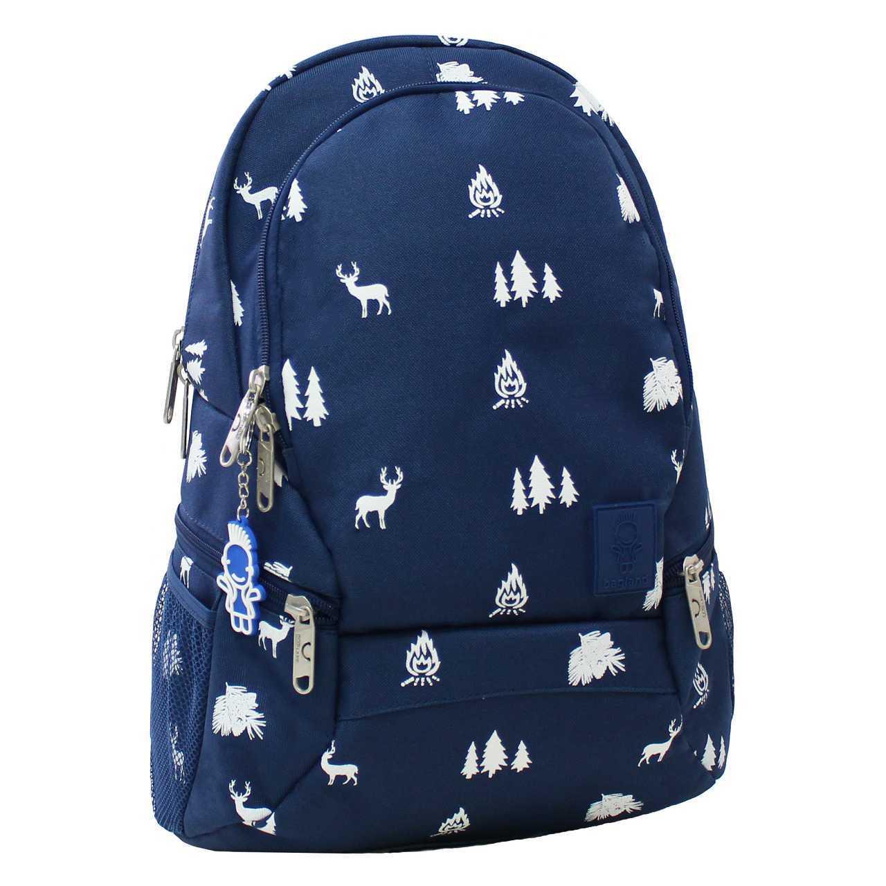 Городские рюкзаки Рюкзак Bagland Urban 20 л. 225 синій/олені (0053066) IMG_6441.jpg