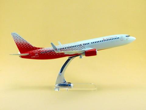 Модель  самолета Boeing 737-800 (М1:100 Россия, Оренбург)