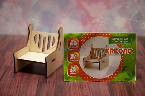 Деревянное кресло