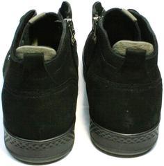 Мужская зимняя обувь с натуральным мехом Ikoc 1617-1 WBN.