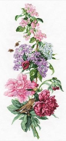 Цветочная композиция. Пионы