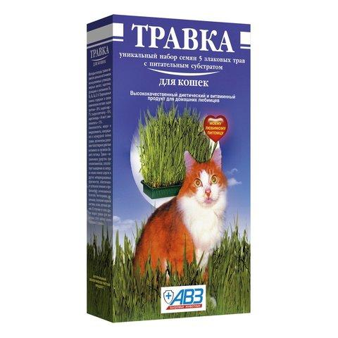 АВЗ трава для проращивания для кошек