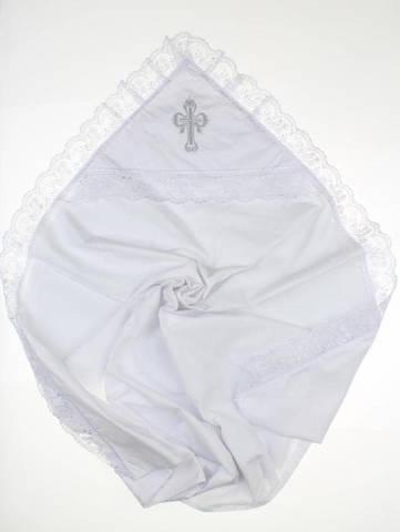 Пеленка крестильная Ажурная ( 2 цвета )