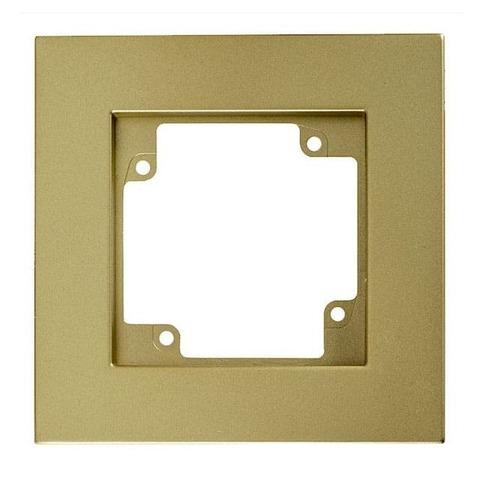 Рамка на 1 пост. Цвет Золото. GUSI Electric City. С511-005-005