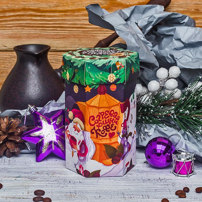 Купить оригинальный кофе в подарок на Новый год в Перми